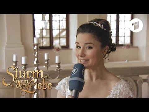 Making-of Hochzeit von Clara und Adrian   Sturm der Liebe