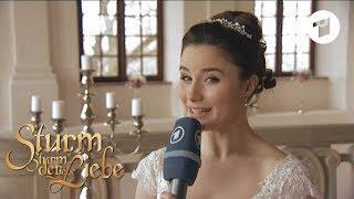 Making of Hochzeit von Clara und Adrian | Sturm der Liebe