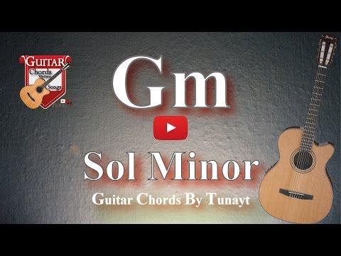 How to play Gm chord on guitar | Sol Minor Akoru Gitarda Nasıl Basılır ?