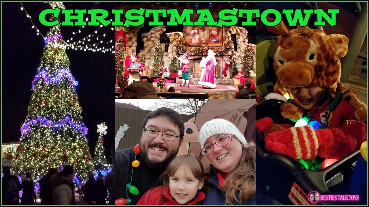 Busch Gardens Williamsburg Christmas Town 2016 Youtube