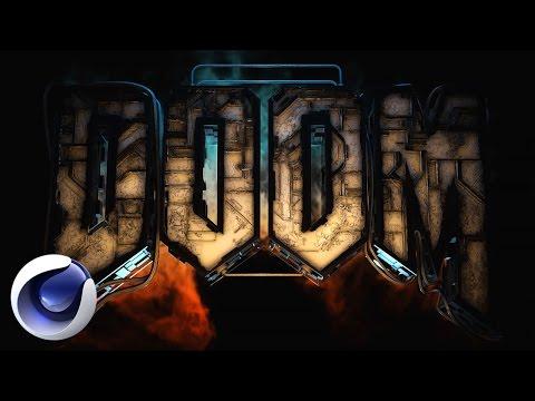 Создание заставки из игры Doom в Cinema 4D