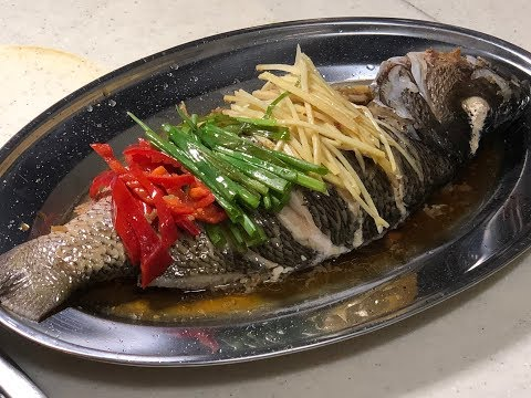 CNY recipes - steamed fish cantonese style 年年有鱼