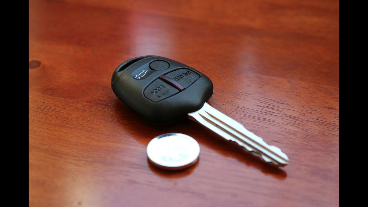 Need To Replace Car Battery For Remote Key