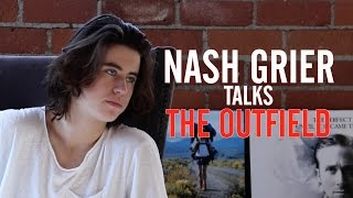 Nash Grier Admits He Was 'Freaking Out' Over His First Movie Kiss in 'The Outfield'
