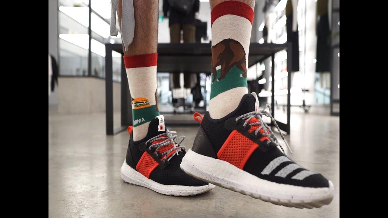 promo code 30b5d 7c8a4 INFILTRATING A SNEAKER STORE (LIVESTOCK X ADIDAS PURE BOOST ZG ON FEET  REVIEW)