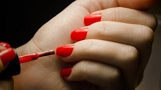 How To Apply Gelish Nail Polish With Nour   طريقة تطبيق مناكير الجيل مع نور