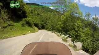 Roadbook moto Haute Garonne : Le Col de Portet d' Aspet