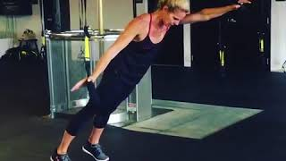 TRX Monday Move - TRX Roll-Out to Half Moon
