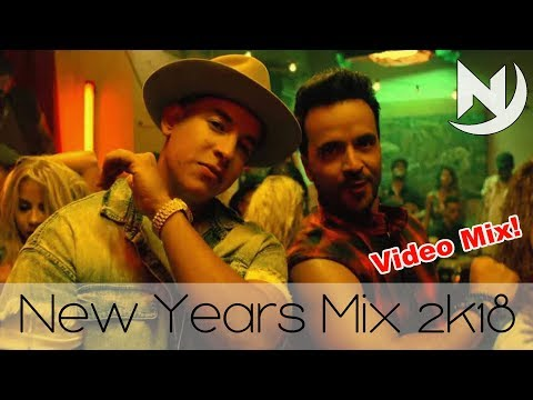 New Years Mix 2018 | Best Hip Hop RnB Reggaeton Dancehall Party Twerk Trap Electro Pop Club 2017 Mix