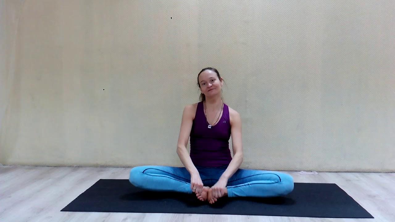 Йога с Натальей Чистяковой. Шпагат для начинающих. | Yoga. Twine for beginners.