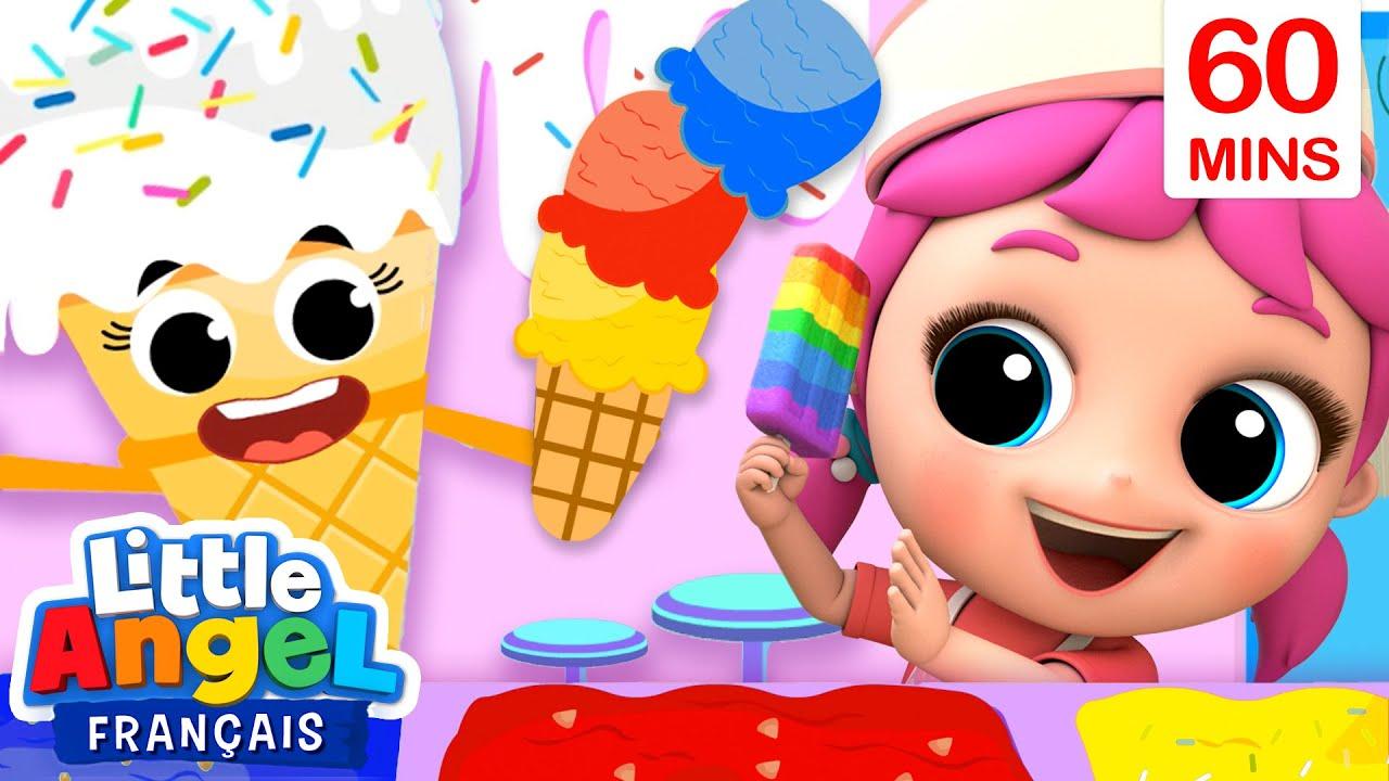 Visitons le marchand de glace + 1H de Comptines pour Enfants | Little Angel Français