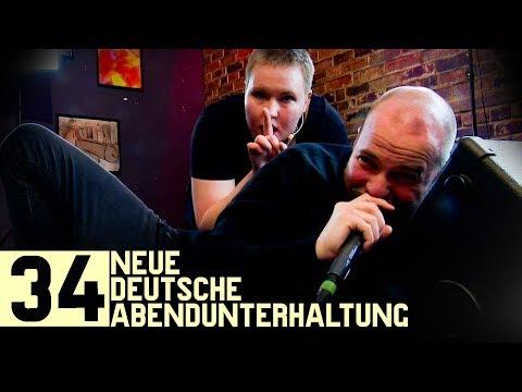 Curse muss liegend rappen, Rätsel-König Stefan Heine, Gebärdensprache mit Laura Schwengber | NDA #34