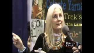 Celeste Yarnall (Star Trek) at Wonder Con 2012
