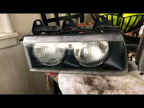 How to polish and clean E36 M3 headlights