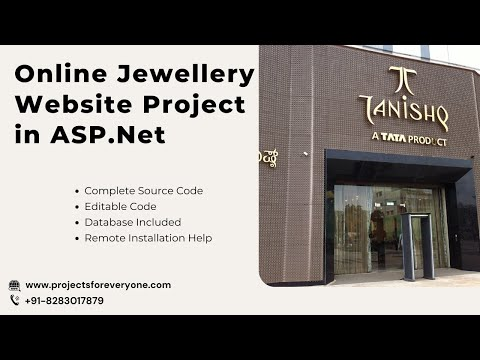 Online Jewellery Shopping Website Project in ASP.Net with C#.Net with Sql Server image