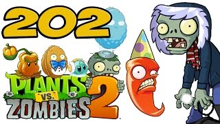 ч.202 Plants vs. Zombies 2 - Frostbite Caves - Day 30
