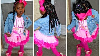 Puffs Into A Mohawk Toddlerslittle Girls Hairstyles Princess