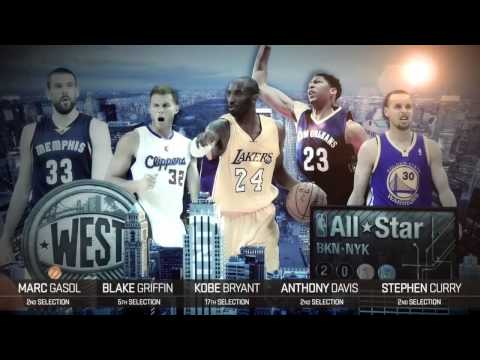 2015 NBA All Star Game Starters Anounced on Inside the NBA