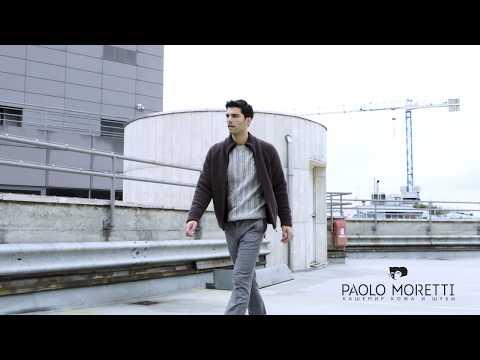 Мужская куртка с мехом | Paolo Moretti мужские итальянские шубы и кашемир