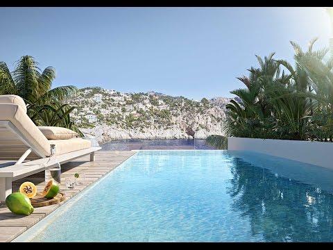Blue Elements Mallorca 3D  Architecture Visualization Rendering