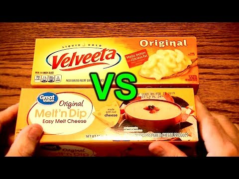 Buy Velveeta or Cheaper Walmart Brand Cheese Block Substitute?  Taste Test Comparison and Review