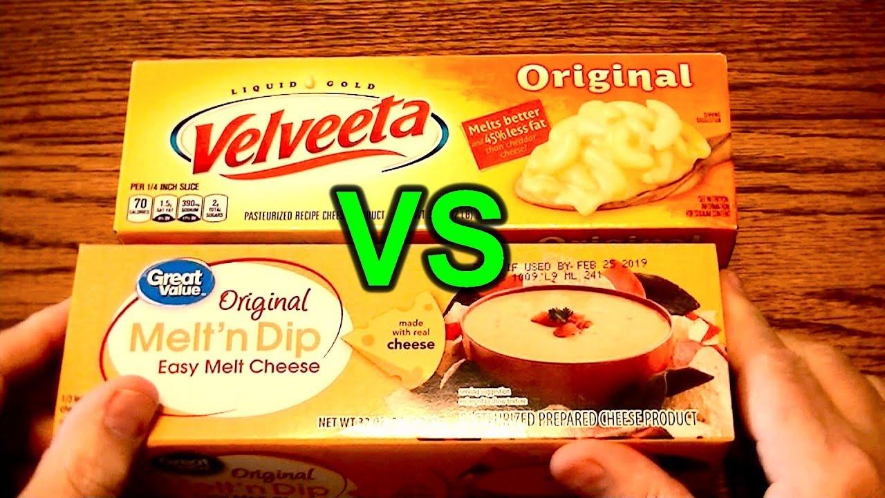 Buy Velveeta or Cheaper Walmart Brand Cheese Block Substitute? Taste Test  Comparison and Review
