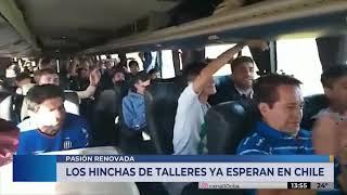 Miles de hinchas para ver a Talleres en Chile