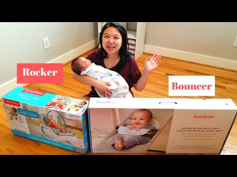 Fisher-Price Infant-to-Toddler Rocker, And BABYBJÖRN Bouncer Review
