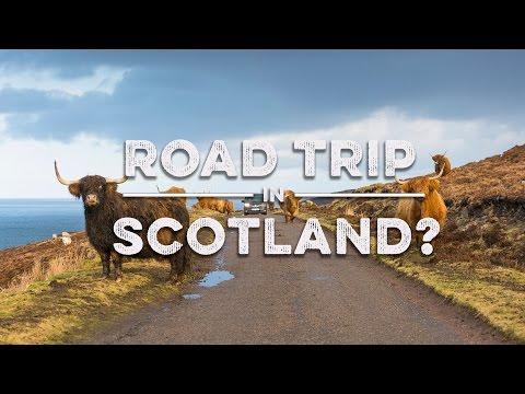 Take a Road Trip in Scotland