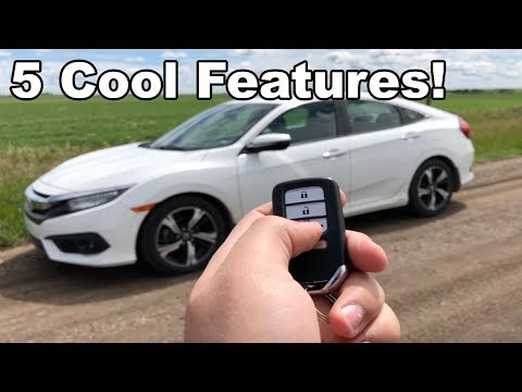Here's 5 Cool Honda Civic Features!
