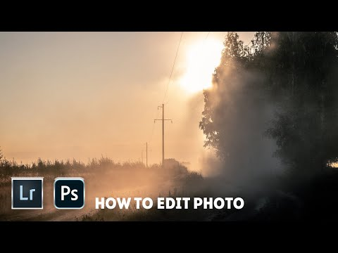 Lightroom & Photoshop Sunset Photo Editing Tutorial thumbnail