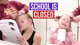 School is canceled | friends are coming over | The LeRoys