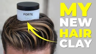 ANNOUNCING MY NEW HAIR CLAY | Forte Series Texture Clay | Alex Costa