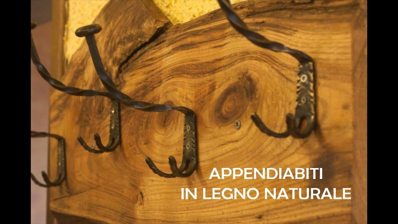 Costruire Un Attaccapanni In Legno.Appendiabiti In Legno Naturale Diy Fai Da Te