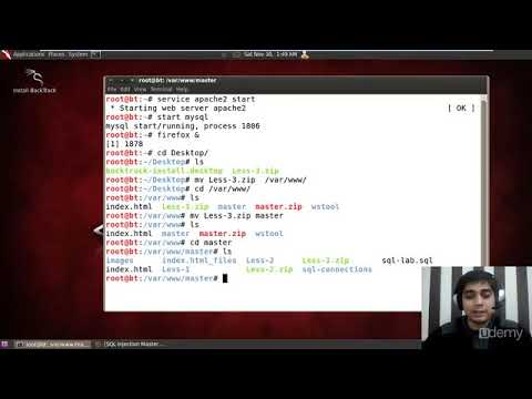 Udemy SQL Injection Master Course : Lecture 14   Injection challenge solution 3