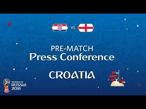 2018 FIFA World Cup Russia™ - CRO vs ENG - Croatia Pre-Match Press Conference