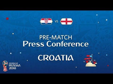 2018 FIFA World Cup Russia™ - CRO vs ENG - Croatia Pre-Match Press Conference