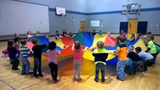 2014 Kindergarten Parachute Fun!