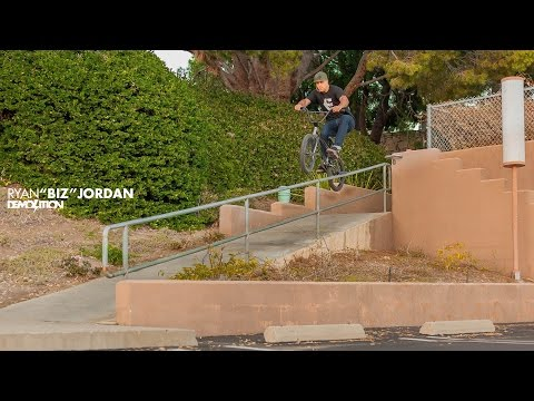 "DEMOLITION BMX: Ryan ""Biz"" Jordan's 2016 RotatoR Part"