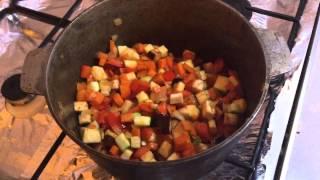 Овощное рагу. Видео рецепт овощного рагу