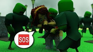 IT IS IMPOSSIBLE TO SURVIVE ROBLOX'S ZOMBIE APOCALIPSIS Roblox zombies in Spanish
