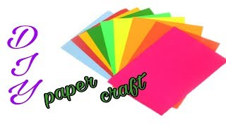 DIY:: Paper craft ideas    Attractive Wall Hanging Craft at Home    Poppyalley