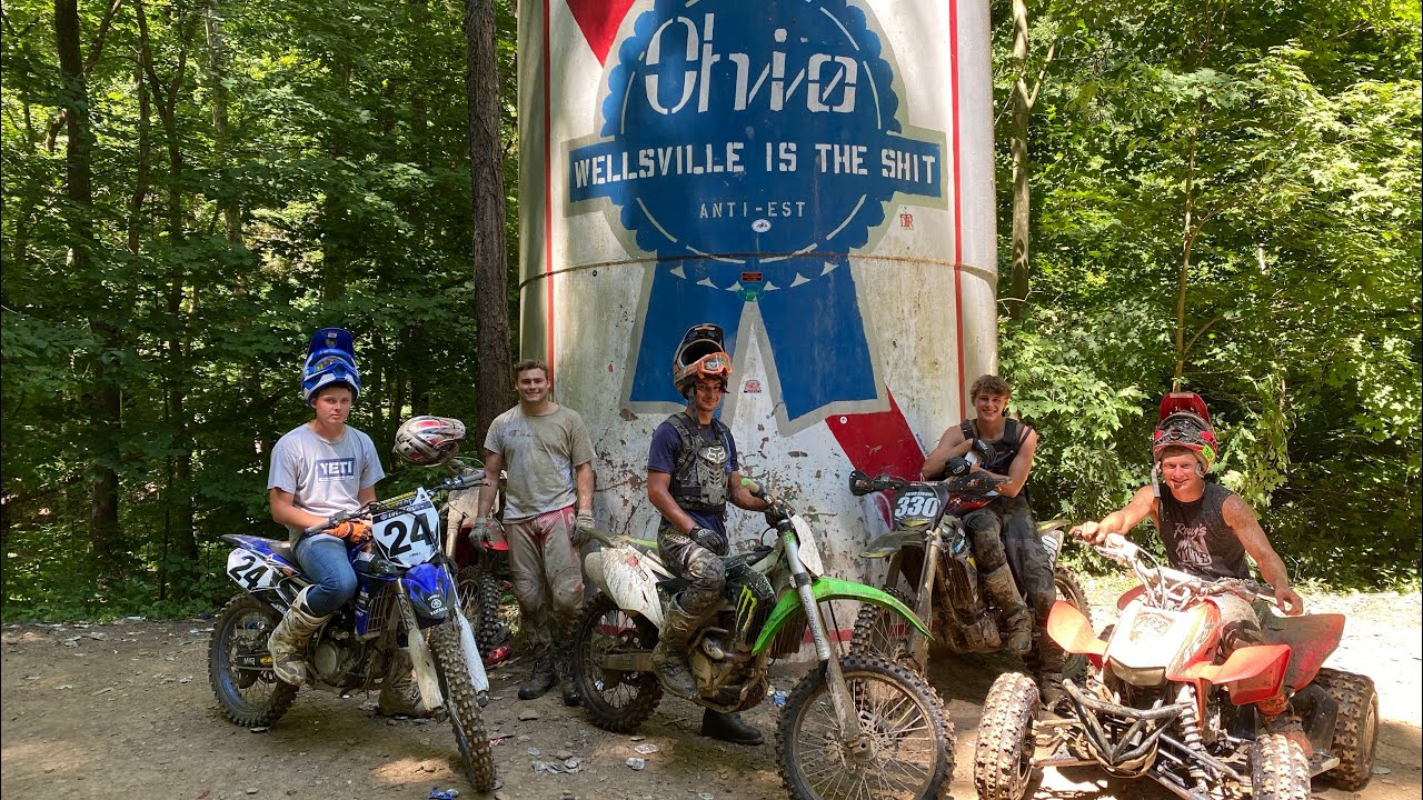 Wellsville Ohio Trail Riding July 2020 Youtube