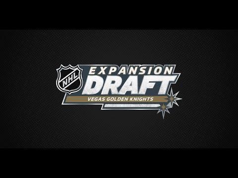 2017 NHL Expansion Draft - Round 1