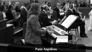 Panis Angelicus (Church, live) Jenny O'Brien Wedding Music YouTube Thumbnail