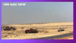 الصحفى هانى عبد الرحمن أول صحفى فى مصر بنفرد بتغطية أول ايام حفر قناة السويس على لودر16أغسطس