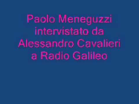 Paolo Meneguzzi a Radio Galileo