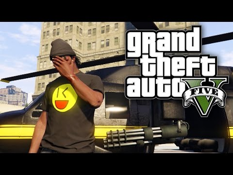 GTA 5 Online - BOUNTIES, ASSASSINATION FAIL & EXPLOSIVE ISLAND RACE! (GTA V Online)