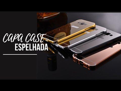 c0cc811bc bumper case capa pra sansung j5 E j7 - YouTube