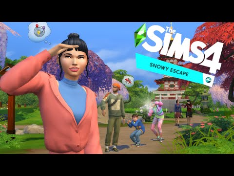 Reacting to The Sims 4: Snowy Escape Expansion |